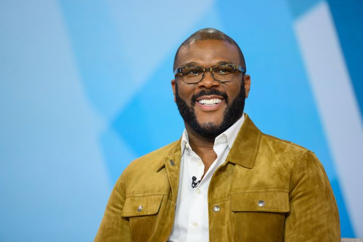 Tyler Perry shares the lessons he's learned from his son, Aman.