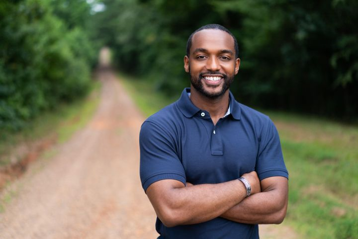 Adrian Perkins is the Democratic mayor of Shreveport, Louisiana, and is running for the U.S. Senate this year.