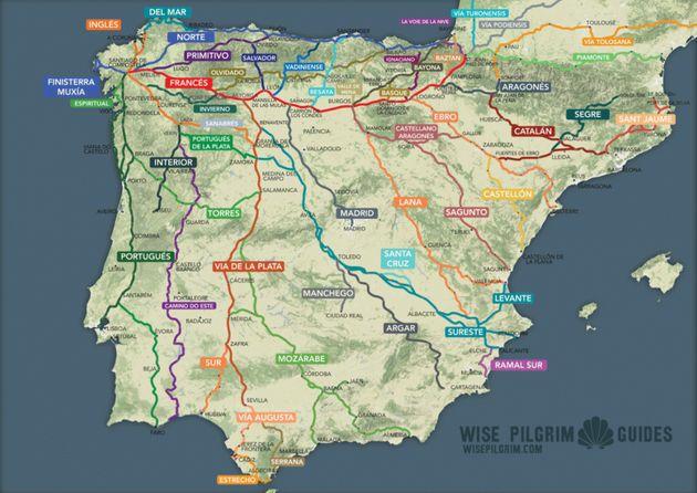 Ο χάρτης με της διαδρομές...