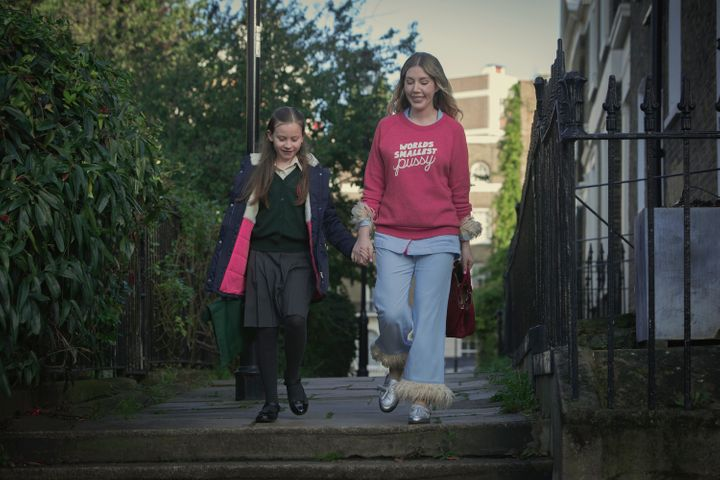 Ryan treats her budding Tory daughter (Katy Byrne) to a riff on immigration during a school run.
