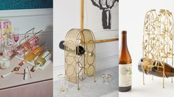 The Best Space-SavingCountertop Wine Racks That'll Hold All Your