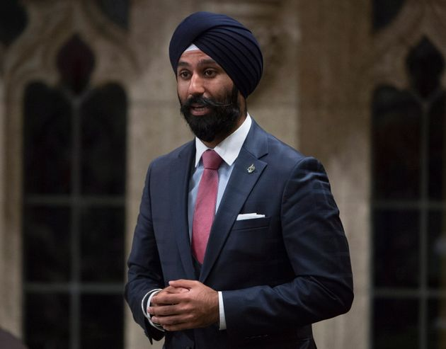 Raj Grewal rises in the House of Commons in Ottawa on June 3,