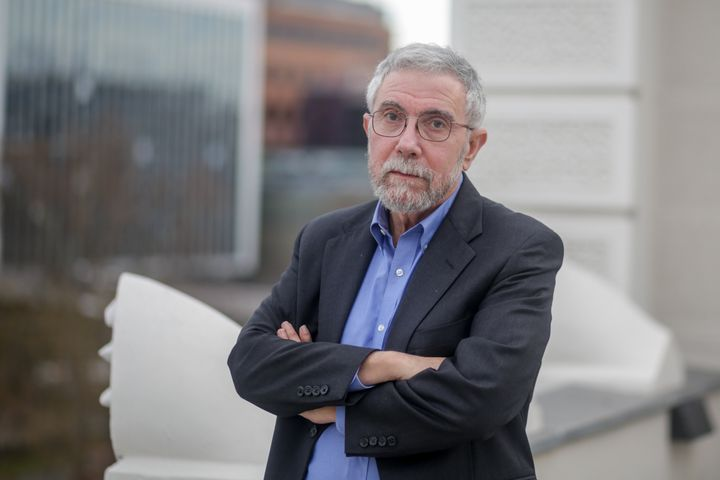 Paul Krugman, winner of a Nobel Prize for his work as an economist, claimed on a Twitter thread Friday thatAmerica &ldq