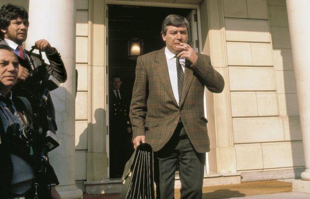 Imagen de archivo de José Luis Corcuera cuando era ministro del