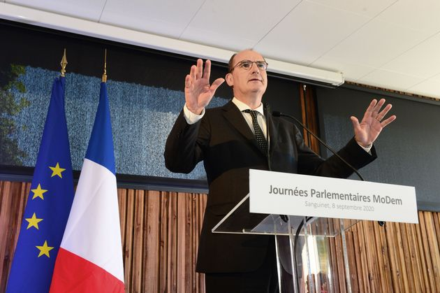 Jean Castex (ici le 8 septembre) négatif au