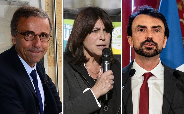 Pierre Hurmic, Michèle Rubirola et Grégory Doucet sont les maires EELV de Bordeaux, Marseille et