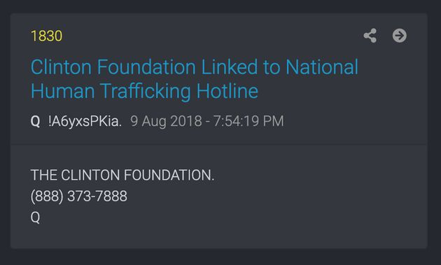 QAnon has inserted anti-trafficking organizations into its conspiracy