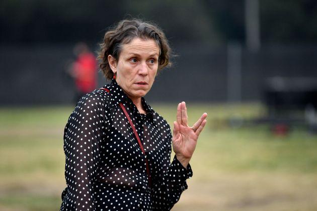 Frances McDormand, protagonista de 'Nomadland', asiste a la premiere de la película en la ciudada...