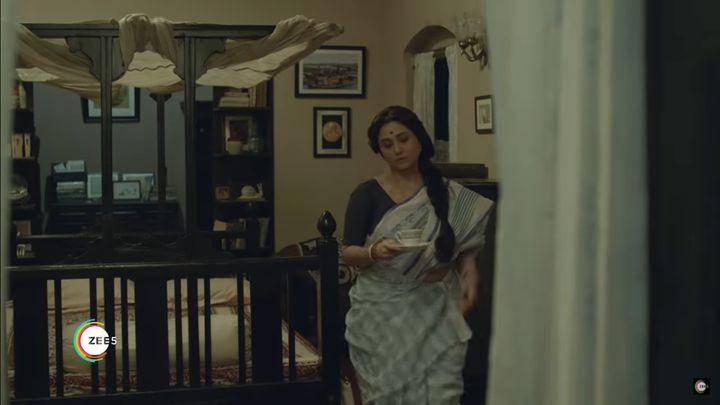 Swastika Mukherjee in The Lovely Mrs Mookherjee.
