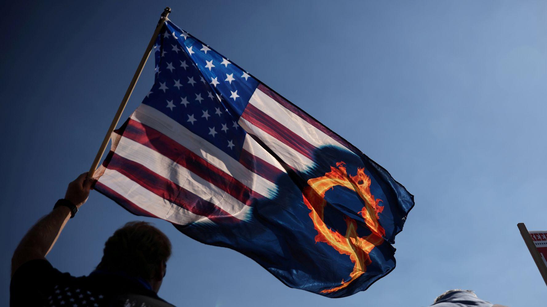 'It's Over': Devastated QAnon Believers Grapple With President Joe Biden's Inauguration