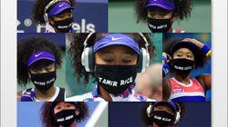 大坂なおみがマスクに遺した7人の犠牲者。勝ち続けることで貫いたもの【全米OP・画像】