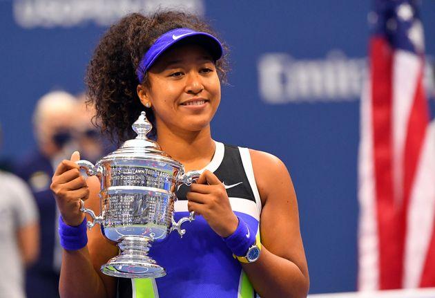 テニス、全米オープンで優勝した大坂なおみ=2020年9月12日(現地時間)