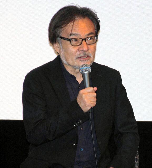 ベネチア国際映画祭の公式会見に日本からオンラインで参加した黒沢清監督=9日、東京