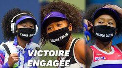 Après sa victoire à l'US Open, Naomi Osaka s'explique sur ses masques