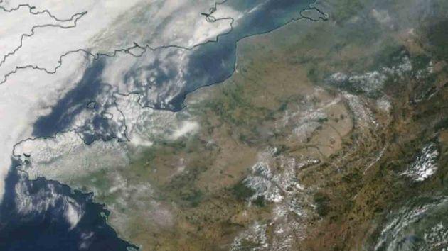 Les incendies aux États-Unis ont provoqué de la fumée qui est parvenue jusqu'en France, dans la matinée...