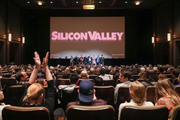 SAN FRANCISCO, CALIFORNIA - OCTOBER 16: (L-R) Dick Costolo, Managing Partner at 01 Advisors, moderates...