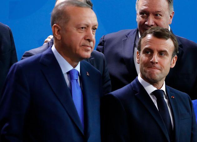 Entre la France et la Turquie, le risque d'escalade est-il réel? (photo d'illustration prise le...