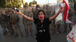 Lebanese Protesters Clash With Army Near Presidential