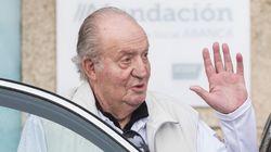 Juan Carlos no ha participado en las regatas de Sansenxo, aunque está deseando volver a