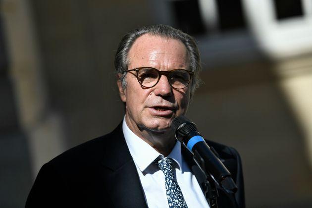 Renaud Muselier, ici à l'hôtel Matignon à Paris, le 30 juillet