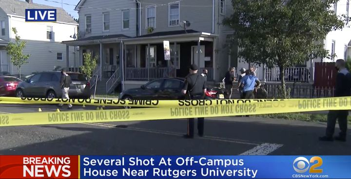 The shooting took place amid at least one house party on the street, according to local reports.