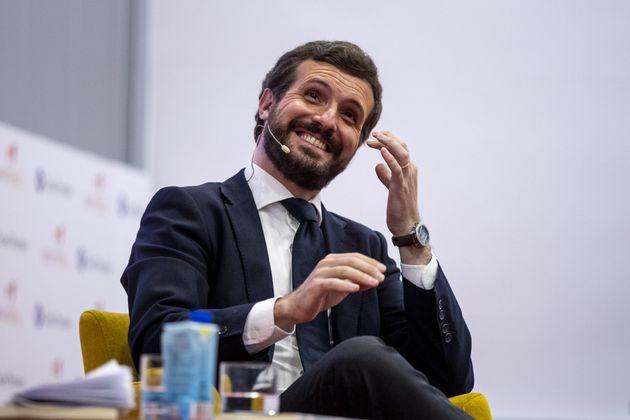 El presidente del PP, Pablo