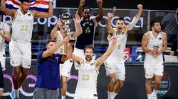 El Real Madrid de baloncesto, campeón de la