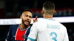 Neymar accuse le défenseur marseillais Alvaro de
