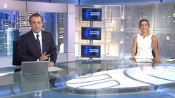 El llamativo gesto con el que se han despedido Ángeles Blanco y José Ribagorda en 'Informativos