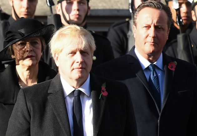 David Cameron Becomes Fifth Former PM To Criticise Law-Breaking Brexit Plan
