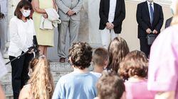 Σακελλαροπούλου σε μαθητές στο Καστελλοριζο: Φορώντας μάσκα δείχνετε πως νοιάζεστε για τον διπλανό