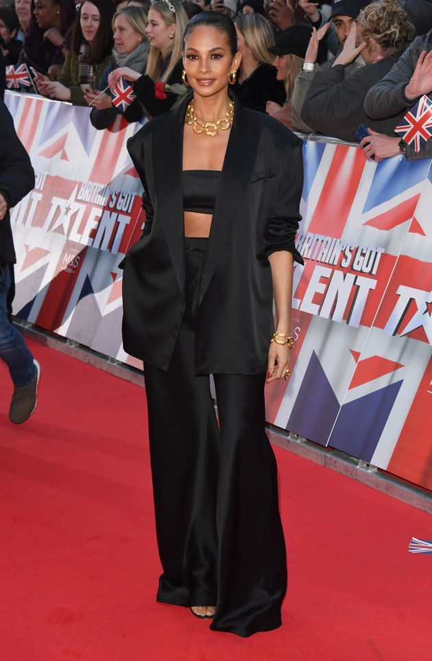 Alesha Dixon at this year's BGT