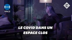 L'inquiétante vidéo anglaise sur la propagation du Covid par la