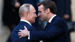 Macron met la pression sur Poutine après la