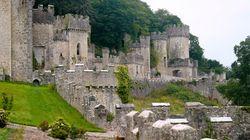 Στο, στοιχειωμένο κατά τον θρύλο, κάστρο Γκριχ της βόρειας