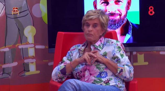 Chelo García Cortés en el Trono de sensaciones de