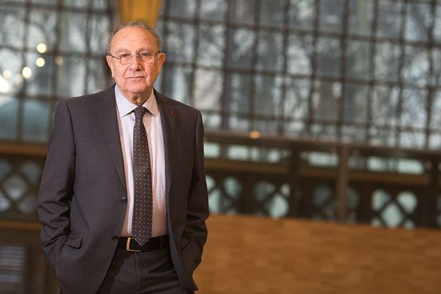 Pierre Aidenbaum en février 2014 lors de l'inauguration du Carreau du