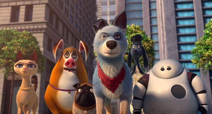 """Pets United"" on Netflix."