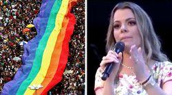 A homofobia da pastora evangélica Ana Paula Valadão e a reação de entidades do movimento