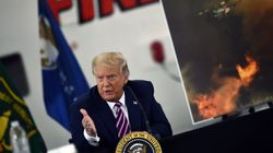 Trump Has Head-Scratching Solution For California Wildfires : 'It Will Start Getting
