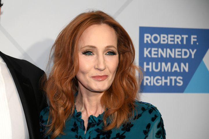 J.K. Rowling at the RFK Ripple of Hope Awards in New York on Dec. 12, 2019.