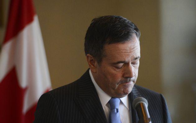 Alberta Premier Jason Kenney speaks at the Rideau Club in Ottawa on March 12,