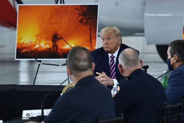 Incendie aux États-Unis: Trump balaye le réchauffement