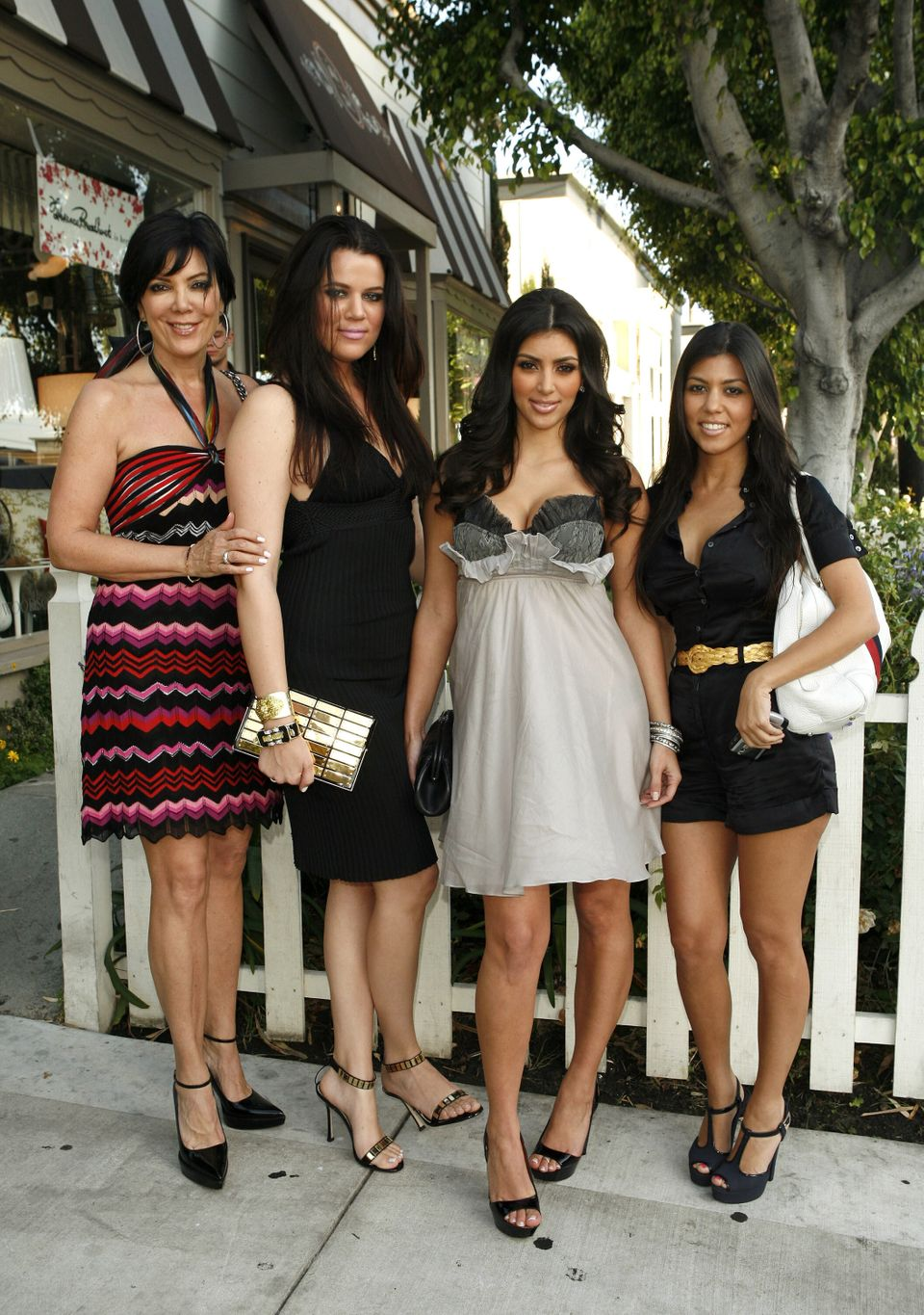 Remembering The Fashion From Season 1 Of 'Keeping Up With The Kardashians' 10