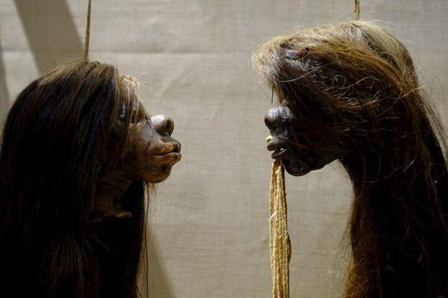 ピット・リヴァース博物館に展示されていたツァンツァ。脱植民地化の一環として、展示を取り止める