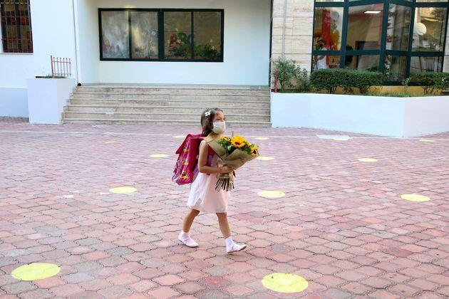 Πρώτη μέρα στο σχολείο...
