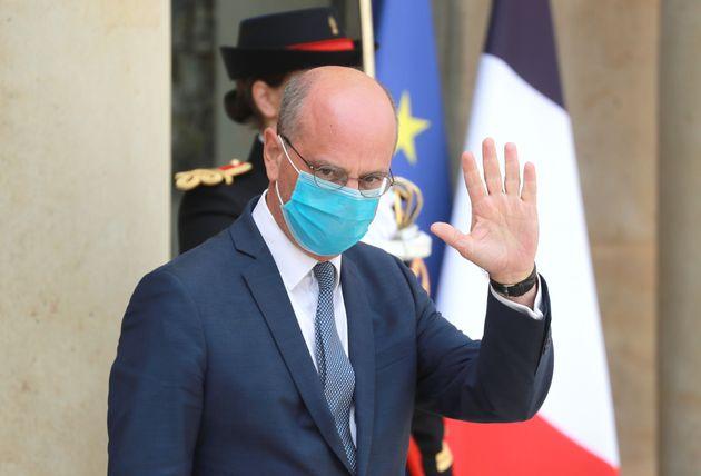 Jean-Michel Blanquer (ici photographié le 26 août dernier à la sortie du conseil...