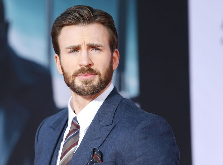 Chris Evans, en la premier de 'Capitán América' el 13 de marzo de 2014.