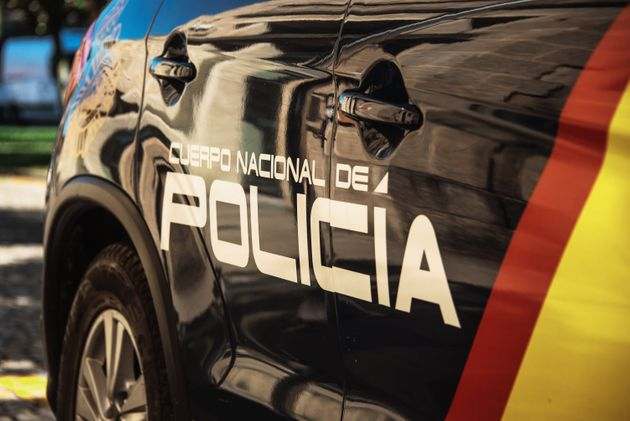 Partial view of a spanish police