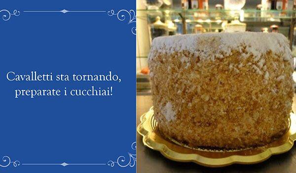 La storica pasticceria Cavalletti riapre a Roma.